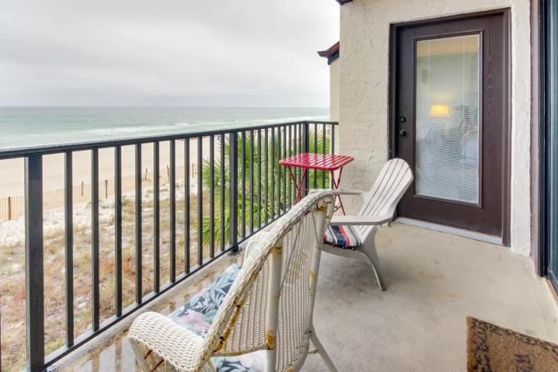 Bright, oceanfront retreat w/ shared swimming pool and other resort amenities! - Image 1 - Panama City Beach - rentals