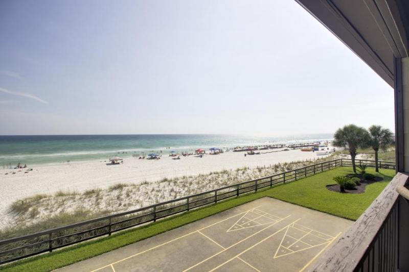 Oceanfront condo with Gulf views, close beach access & shared pool! - Image 1 - Panama City Beach - rentals