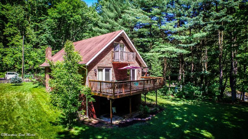Rainbow Chalet, 3 bedrooms on the Savage River - Rainbow Chalet, Fly Fish the Savage River - Swanton - rentals