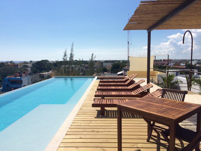 Brand New Condo with OCEAN VIEW TERRACE!  PP8 - Image 1 - Playa del Carmen - rentals