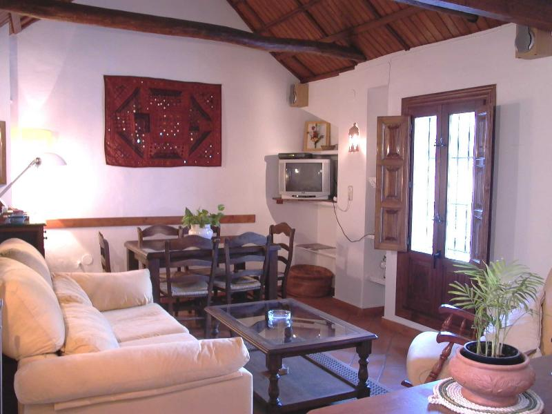 Lounge and living area with nice views - Holiday home with wonderful views to the Alhambra - Granada - rentals
