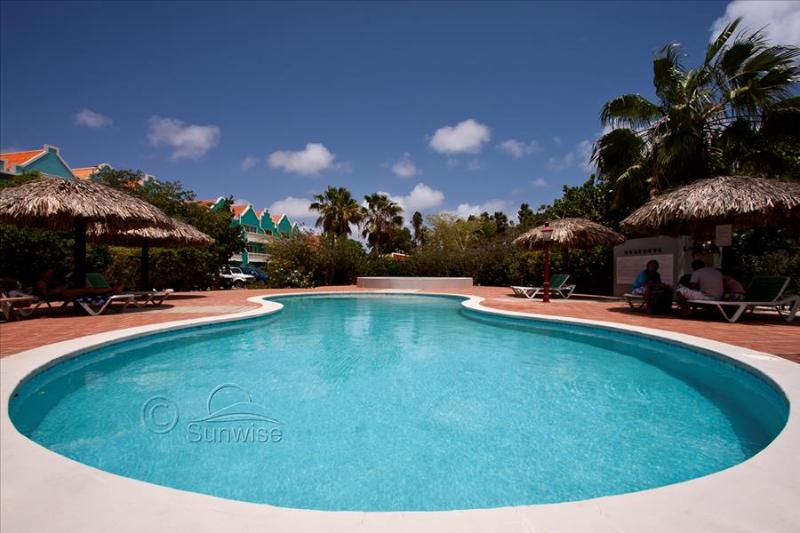 Caribbean Court resort - Caribbean Court 306, waterfront apartment on the ground floor - Image 1 - Kralendijk - rentals