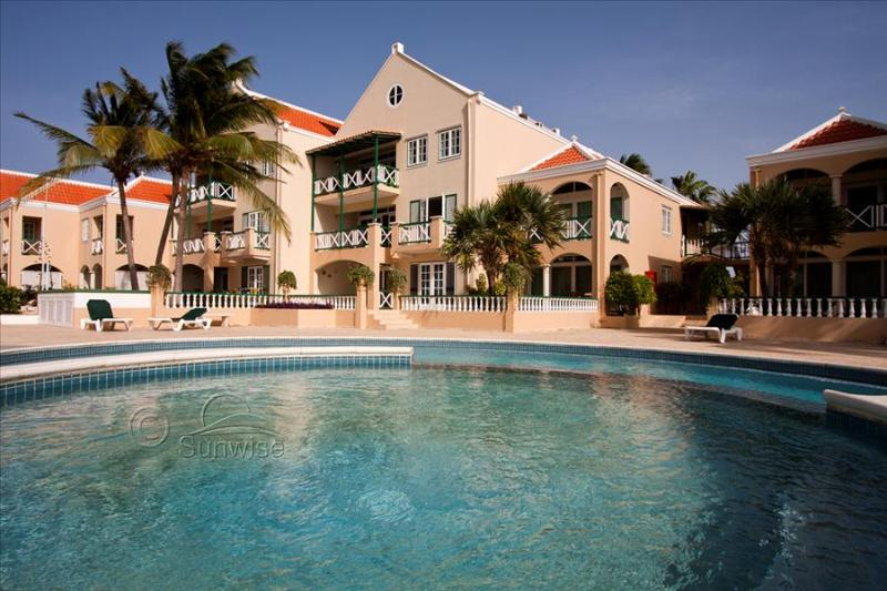 Apartment Seaside Port Bonaire A202 - On the second floor with terrace with - Image 1 - Kralendijk - rentals