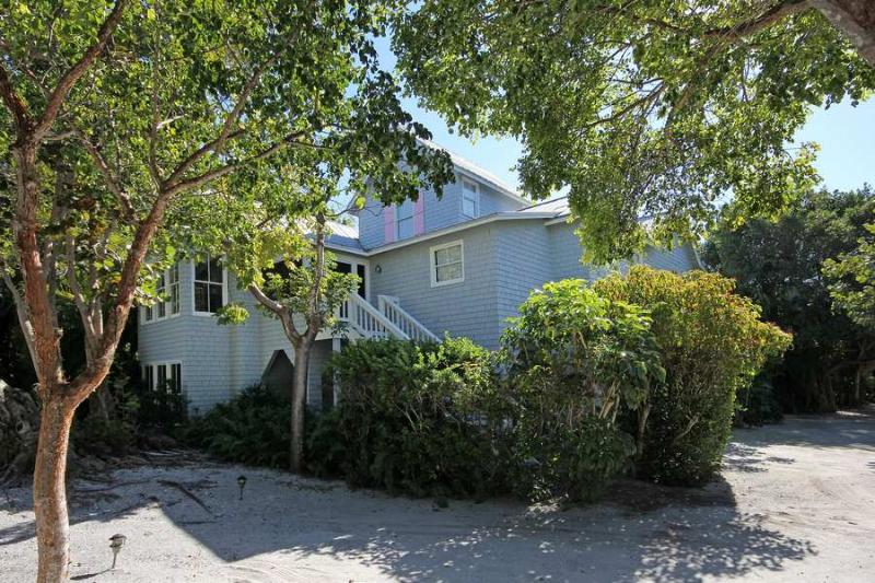Front of Home - Gray Gables - Sanibel Island - rentals