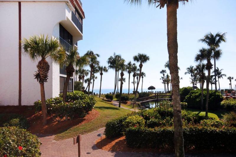 View from Unit - Pointe Santo D7 - Sanibel Island - rentals