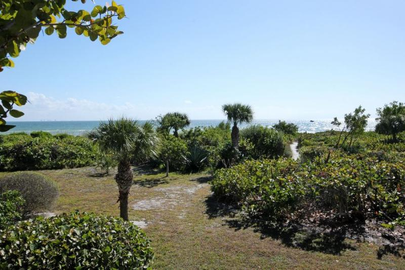 View from Unit - Seagrape Village 2 - Sanibel Island - rentals
