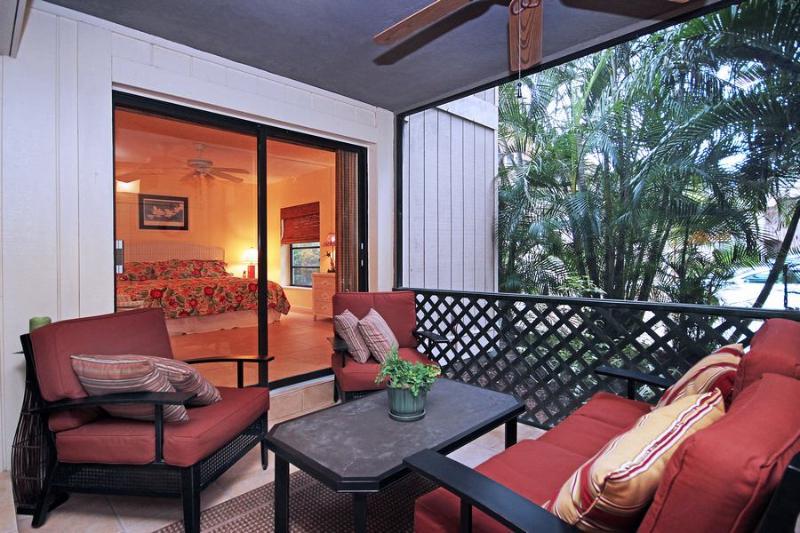 Lanai - Coquina Beach 1B - Sanibel Island - rentals