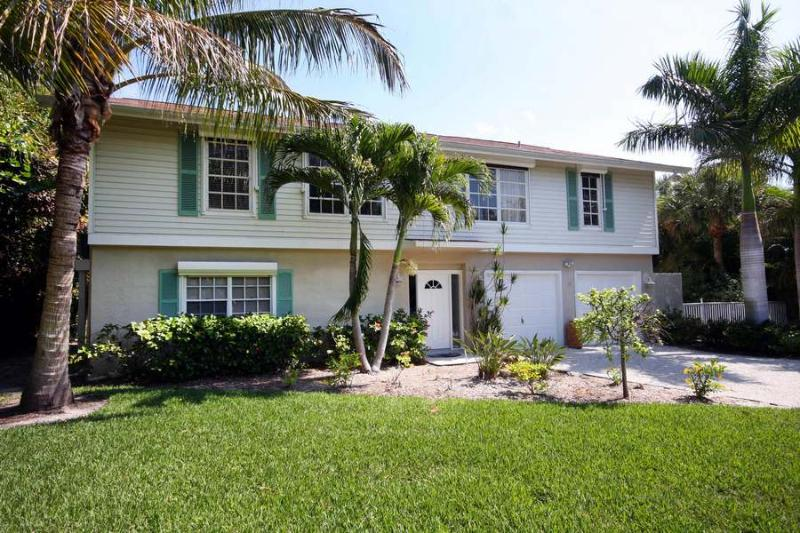 Front View of Home - Seaside Rendezvous - Sanibel Island - rentals