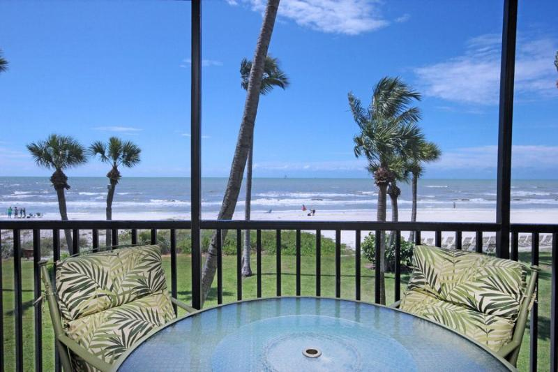 View from Unit - Pointe Santo E24 - Sanibel Island - rentals