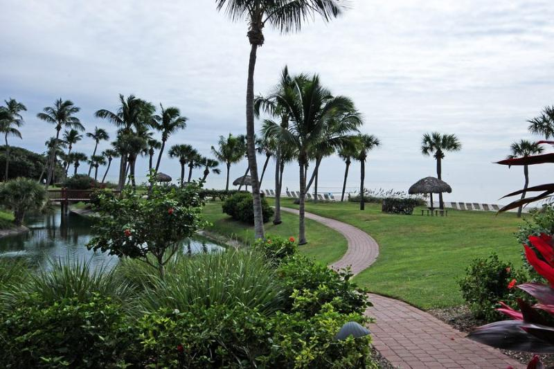 View from Unit - Pointe Santo A3 - Sanibel Island - rentals