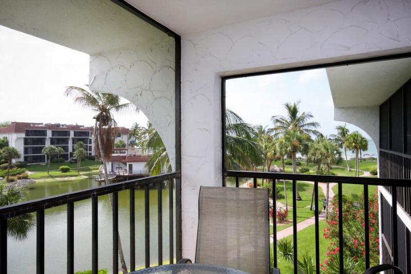 View from Lanai - Pointe Santo B34 - Sanibel Island - rentals