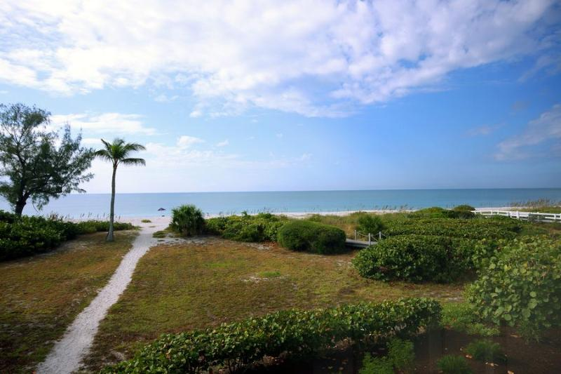 View from Lanai - Blue Gulf 102 - Sanibel Island - rentals