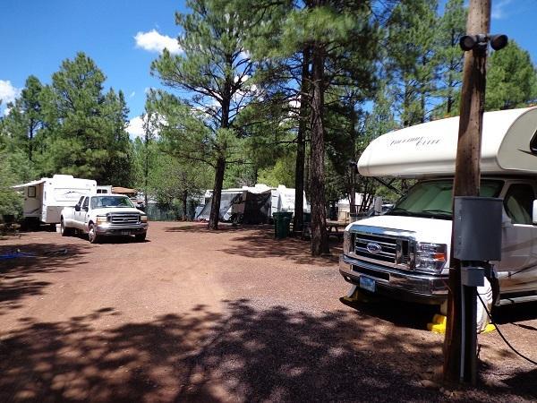 Pine Forest RV Park- (RV & Travel Trailer Parking) - Image 1 - Pinetop - rentals