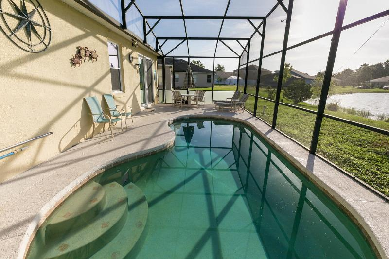 The Pool - Ladysvilla (our home in the sun)- Kissimmee Villa - Kissimmee - rentals