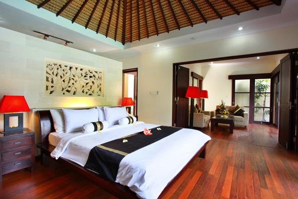 Main Bedroom Area - Aleesha Villas - 2 BR Superior Private Pool Villa - 3 - Sanur - rentals