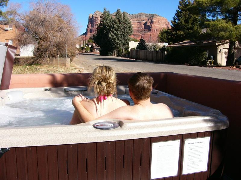 6 Person Hot Tub - Sedona Townhouse Unit - J - Sedona - rentals