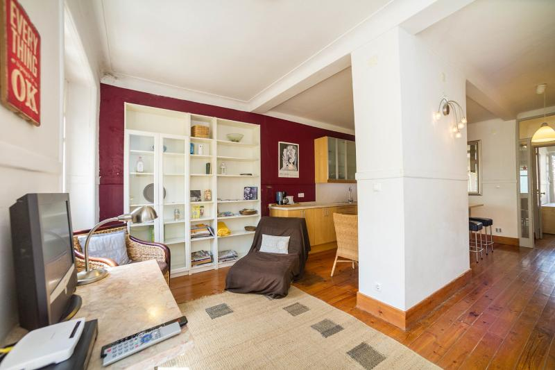 Living Room - Lovely balcony downtown - Lisbon - rentals