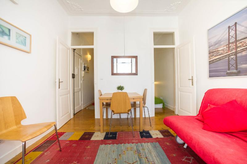 Living Room - Apart in the center of the Fado capital - Mouraria - Lisbon - rentals