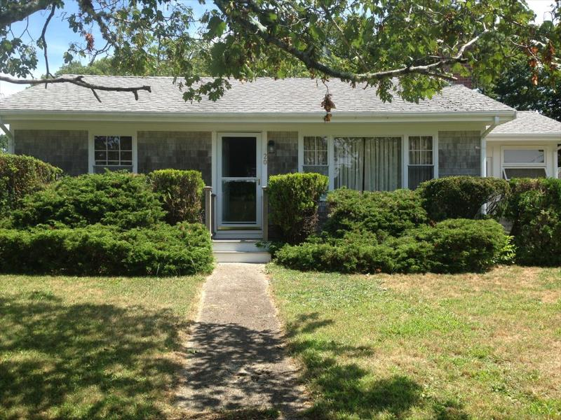 Facade of home - PRIVATE OLD SILVER IS A 1/2 MILE WALK !!! 106756 - North Falmouth - rentals