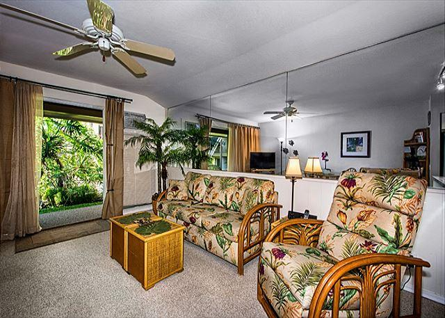 Kona Isle A4 Beautifully upgraded condo. Ground Floor, Wifi, AC! - Image 1 - Kailua-Kona - rentals