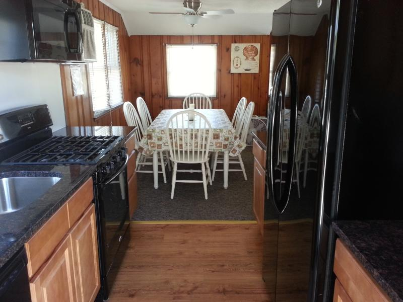 Professionally renovated featuring new appliances, solid wood cabinets, granite tops & more! - FOOTSTEPS Rental Upper Level pet friendly 3BR, LBI - Beach Haven - rentals