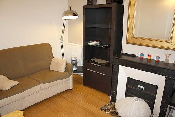 Living room - Rennequin Monceau spacious 1BR - 1227 - Paris - rentals