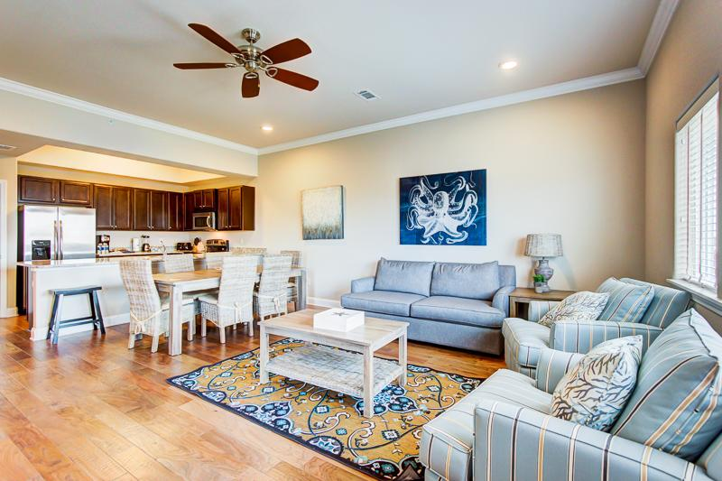 Living room view - ALERIO A405 - Miramar Beach - rentals