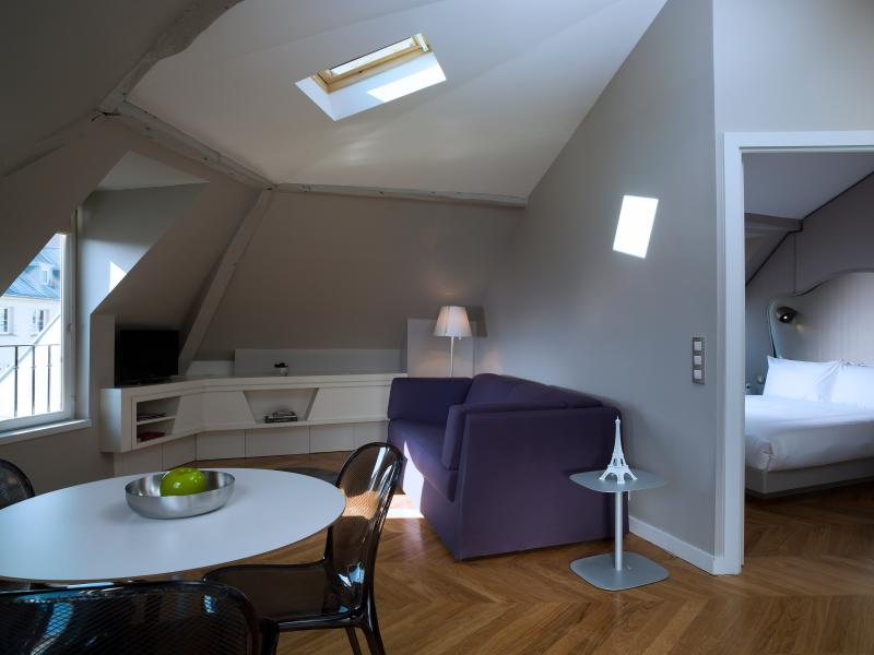 Minimalist 1 Bedroom Apartment Near Opéra - Image 1 - Paris - rentals