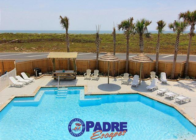 View from your private blacony - Call Now to enjoy 25% the nightly rental rate this Fall-Winter Season! - Corpus Christi - rentals