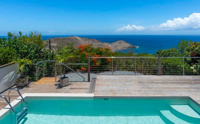 Brand New Contemporary Villa in Vitet, beautiful ocean views over Toiny! - Image 1 - Vitet - rentals