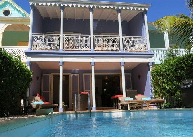 Orient Beach TOWNHOME w/ Private Pool and 1 min to Beach - Image 1 - Orient Bay - rentals