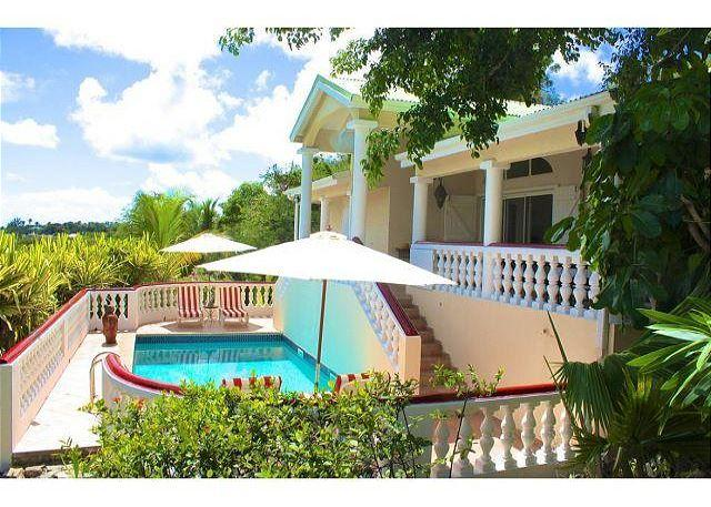 Three Bedroom Villa with pool a minute to Orient Beach. - Image 1 - Orient Bay - rentals