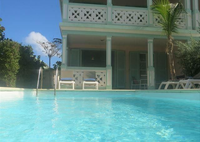 Contemporary Caribbean Townhome with Private pool on Orient Beach - Image 1 - Orient Bay - rentals