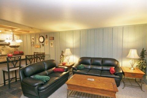 Open concept living within this quaint and cozy ski condo. - Snow Country in Old Town - Park City - rentals