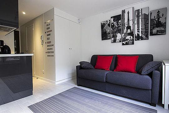 Sejour - 1 bedroom Apartment - Floor area 22 m2 - Paris 2° #20216887 - Paris - rentals