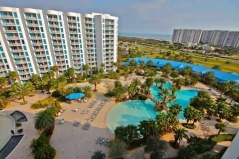 View From the Balcony - Palms of Destin #21009-2Br/2Ba  CALL FOR MONTHLY RATES THRU MARCH 2016! - Destin - rentals