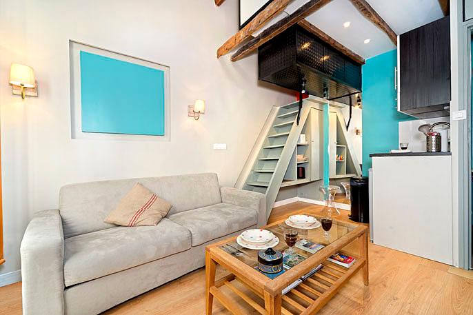 Cozy Nest Near St. Germain One Bedroom - ID# 320 - Image 1 - Paris - rentals