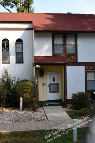 Front - 169CordLn |Desoto Courts | Townhome| Sleeps 2 - Hot Springs Village - rentals