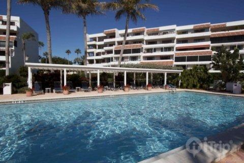 Pool area - Longboat Key Players Club #103 (3 Month Minimum Stay) - Longboat Key - rentals
