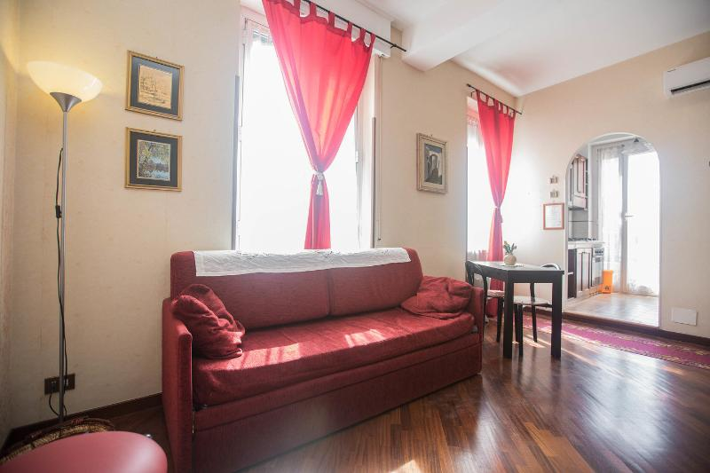 Living Room - Holiday apartment Rome 'Antonella' - Rome - rentals