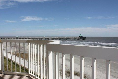 Folly Beach and Folly Pier from the double balcony - Gorgeous Ocean Front Villa-4BD/3BA-Perfect For Any Beach Lover Year Round! - Folly Beach - rentals