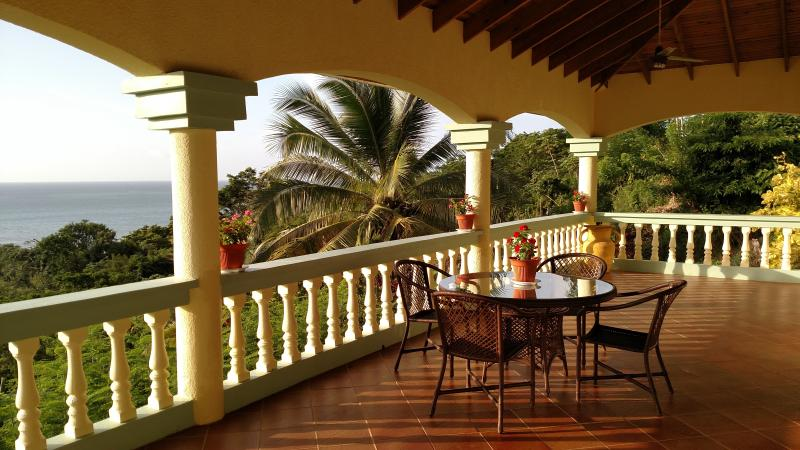 Upper Level Veranda - Quiet Serenity With A View - Roatan - rentals
