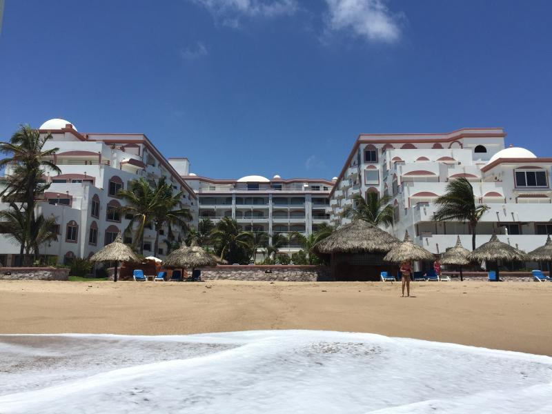 When we say beachfront - we mean as close as you can get and still stay dry. It's ON the beach - Ocean Front 2BR/2BA Condo - Spring/Summer 2016 - Mazatlan - rentals