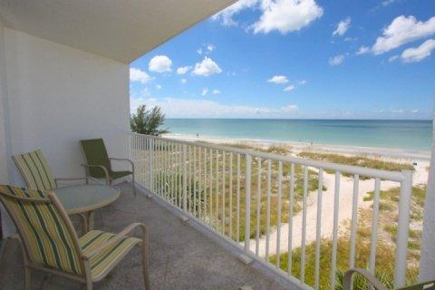 View from private your private balcony overlooking the beach and Gulf of Mexico - 303 - Chambre - Madeira Beach - rentals