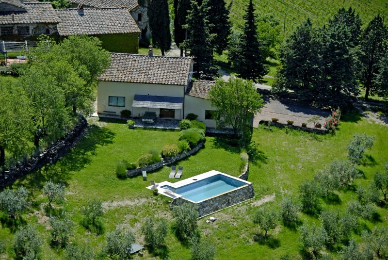Stunning Country Villa at Montefili in Greve, Chianti - Image 1 - Greve in Chianti - rentals