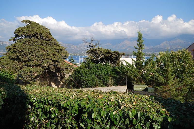 """Très bel appartement """"mare"""", vue mer et montagne, plage et port à 2 pas,  jardin avec transat et bar - Image 1 - Lumio - rentals"""