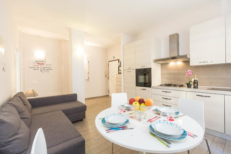 The Salon - Kitchen - Vacanze Romane Guest House - Rome - rentals