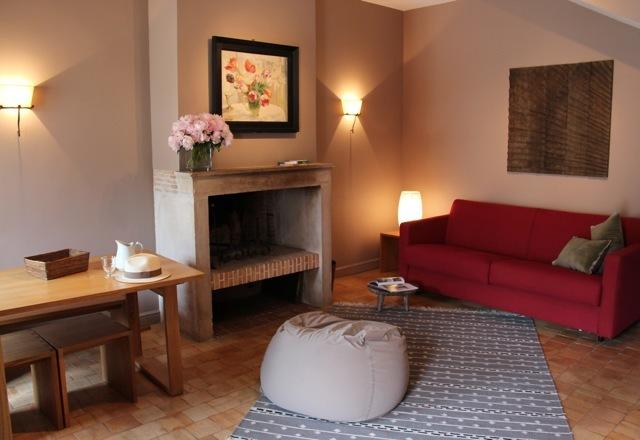 Living room 1 - La Cour Lalouette - Le Petit Logis - Chamant - rentals