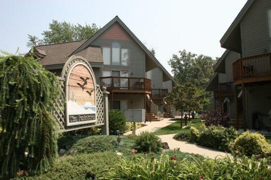 Front of Parkshores Condo Development - Parkshores 6 - South Haven - rentals