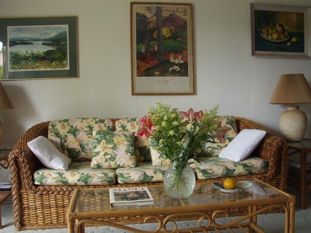 Living Room - Seaside Condo $1750-$2500 mon. Spring-Summer-Fall - Key West - rentals